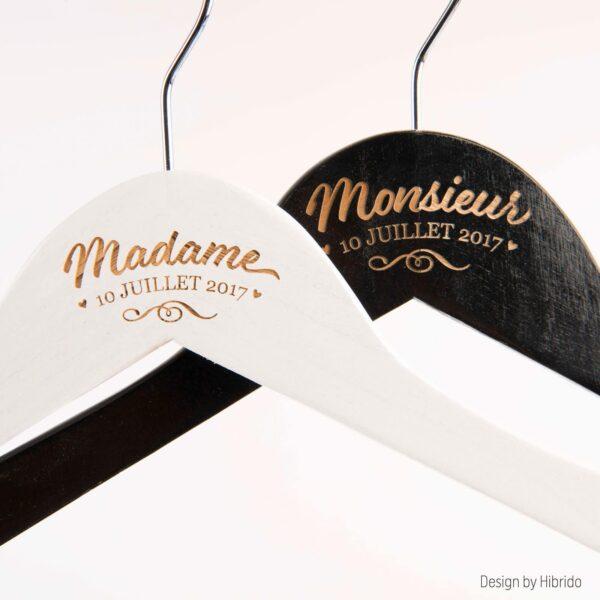 Cintres Monsieur & madame