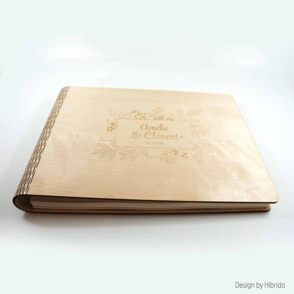 livre d'or couverture