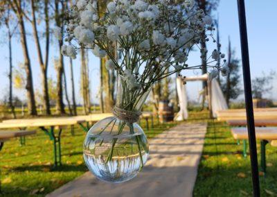 fioles en verre mariage by event'week