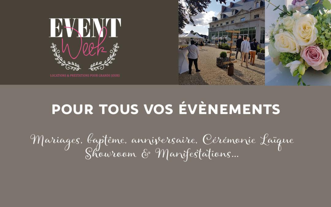 Event'Week, un partenaire en OR