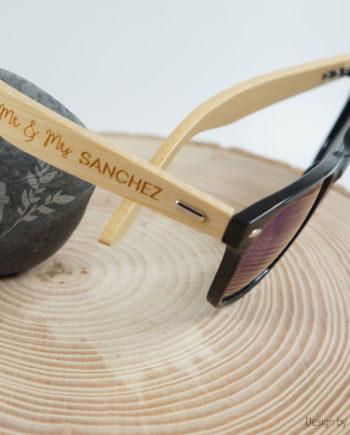 lunette en bambou