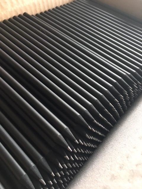 Crayons à papier Noirs personnalisés