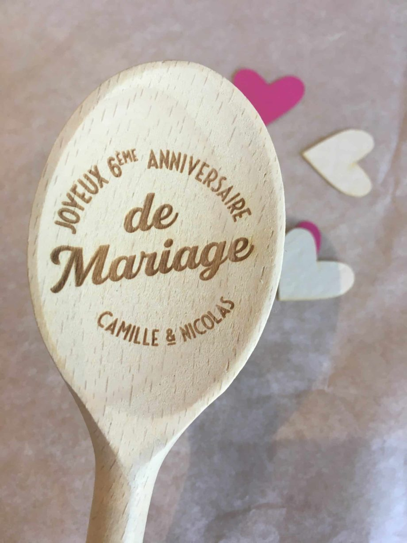 6 eme anniversaire de mariage