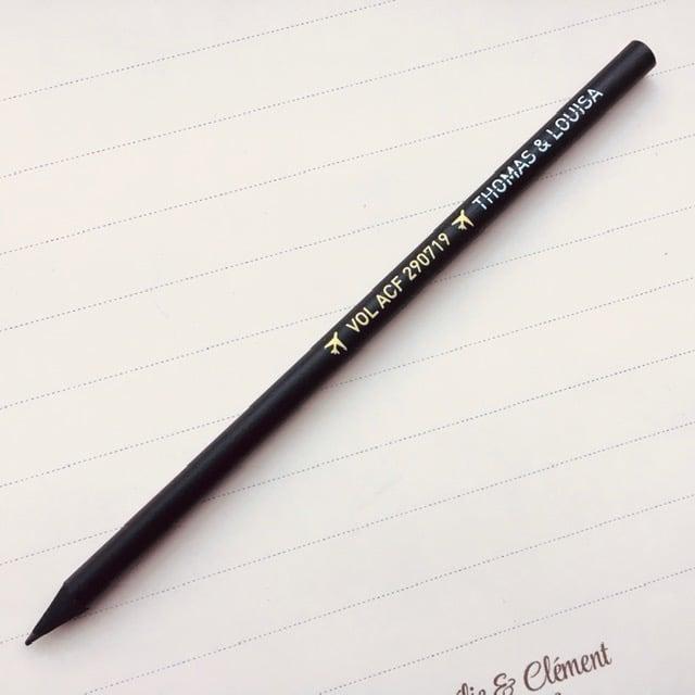 Crayon a papier voyage