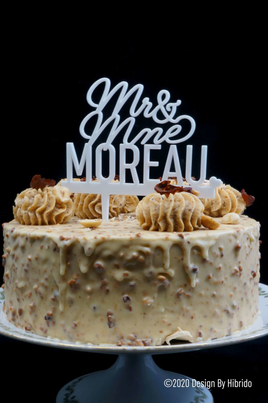 acrylic cake topper mr mme