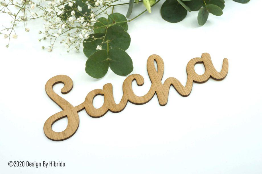 prénom en bois pour décoration