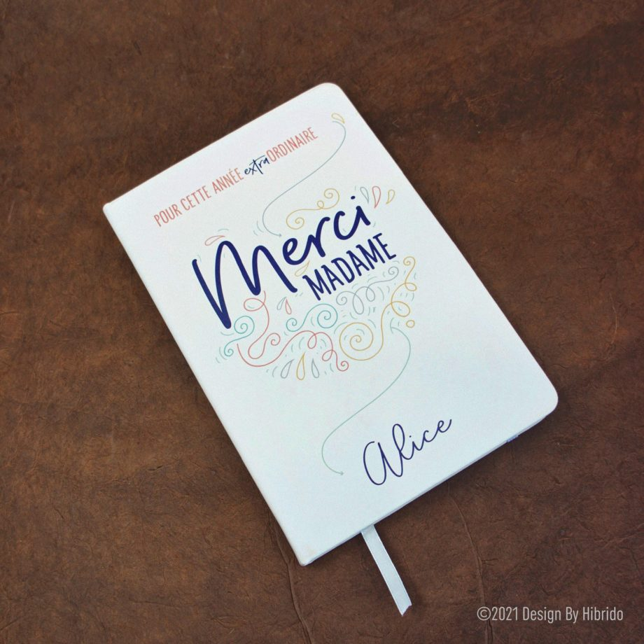 carnet de note merci madame